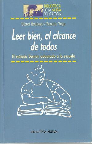 LEER BIEN AL ALCANCE DE TODOS