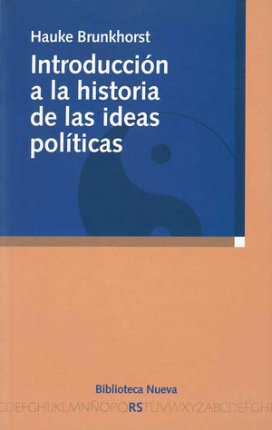 INTRODUCCIÓN A LA HISTORIA DE LAS IDEAS POLÍTICAS