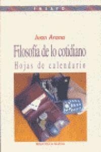 FILOSOFÍA DE LO COTIDIANO