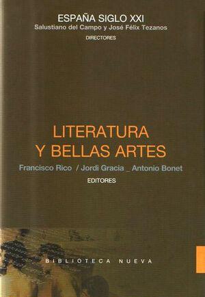 LITERATURA Y BELLAS ARTES ESPAÑA SIGLO XXI