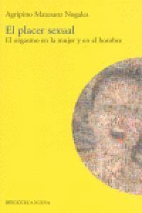EL PLACER SEXUAL EL ORGASMO EN LA MUJER Y EN EL HOMBRE
