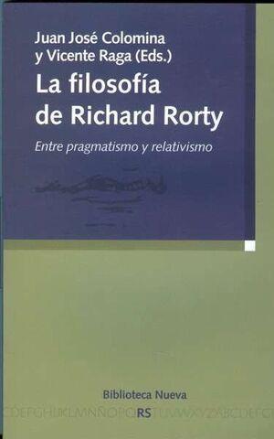 LA FILOSOFÍA DE RICHARD RORTY