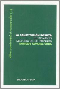 LA CONSTITUCIÓN POSTIZA EL NACIMIENTO DEL FUERO DE LOS ESPAÑOLES