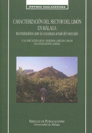 CARACTERIZACIÓN DEL SECTOR DEL LIMÓN EN MÁLAGA