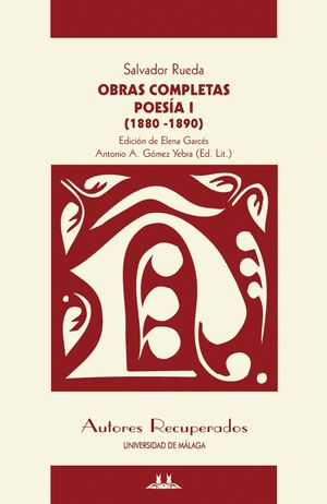 OBRAS COMPLETAS - POESÍA I (1880-1890)