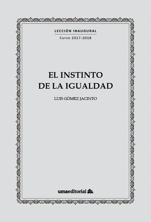 EL INSTINTO DE LA IGUALDAD