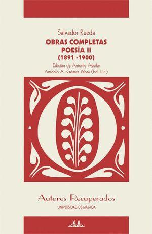 OBRAS COMPLETAS - POESÍA II (1891-1900)