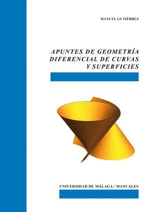 APUNTES DE GEOMETRÍA DIFERENCIAL DE CURVAS Y SUPERFICIES