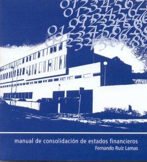 MANUAL DE CONSOLIDACIÓN DE ESTADOS FINANCIEROS