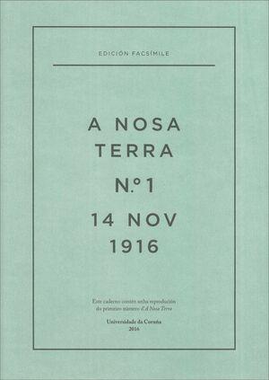 A NOSA TERRA Nº 1 (14 NOV 1916)