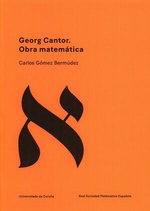 GEORG CANTOR. OBRA MATEMÁTICA