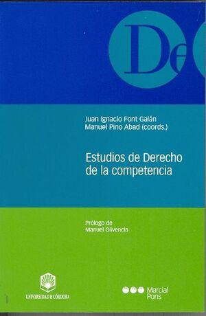 ESTUDIOS DE DERECHO DE LA COMPETENCIA