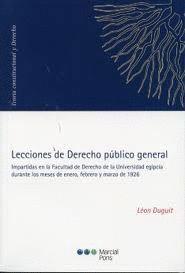 LECCIONES DE DERECHO PÚBLICO GENERAL