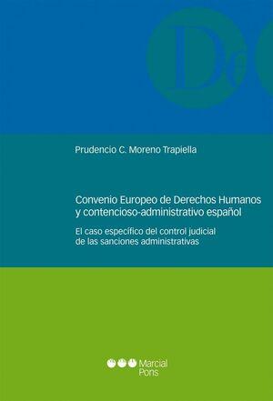 CONVENIO EUROPEO DE DERECHOS HUMANOS Y CONTENCIOSO-ADMINISTRATIVO ESPAÑOL