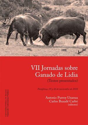 VII JORNADAS SOBRE GANADO DE LIDIA
