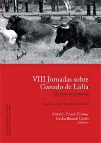 VIII JORNADAS SOBRE GANADO DE LIDIA