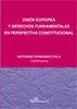 UNIÓN EUROPEA Y DERECHOS FUNDAMENTALES EN PERSPECTIVA CONSTITUCIONAL
