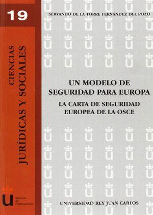 UN MODELO DE SEGURIDAD PARA EUROPA