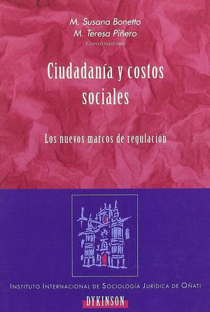 CIUDADANIA Y COSTOS SOCIALES LOS NUEVOS MARCOS DE REGULACIÓN