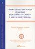 LIBERTAD DE CONCIENCIA EN LAS INSTITUCIONES Y SERVICIOS PÚBLICOS