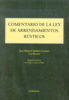 COMENTARIO A LA LEY DE ARRENDAMIENTOS RÚSTICOS