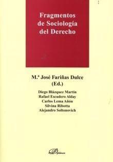 FRAGMENTOS DE SOCIOLOGÍA DEL DERECHO