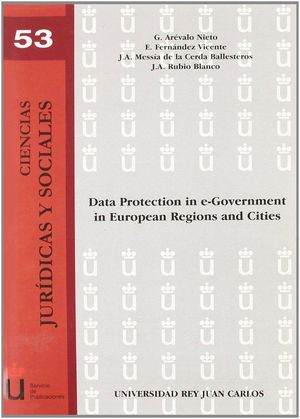 DATA PROTECTION IN E-GOVERNMENT IN EUROPEAN REGIONS AND CITIES