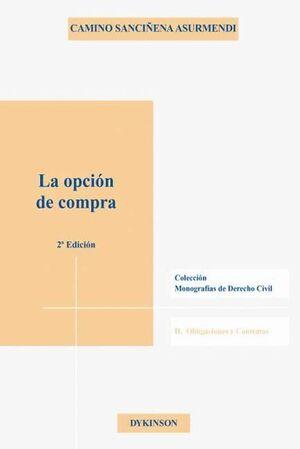 LA OPCIÓN DE COMPRA II OBLICACIONES Y CONTRATOS
