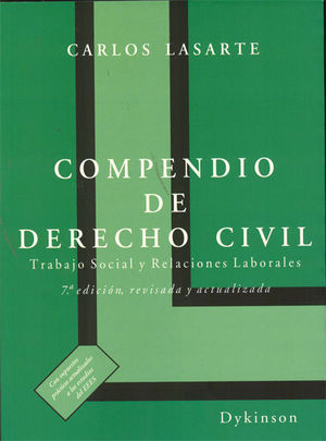 COMPENDIO DE DERECHO CIVIL (TRABAJO SOCIAL Y RELACIONES LABORALES)