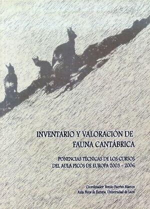 INVENTARIO Y VALORACIÓN DE FAUNA CANTÁBRICA