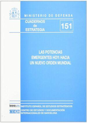 LAS POTENCIAS EMERGENTES HOY