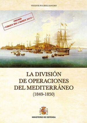 LA DIVISIÓN DE OPERACIONES DEL MEDITERRÁNEO. 1849-1850