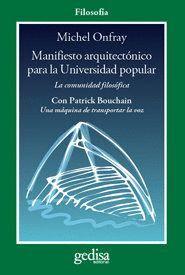 MANIFIESTO ARQUITECTÓNICO PARA LA UNIVERSIDAD POPULAR