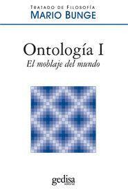 ONTOLOGÍA I. EL MOBLAJE DEL MUNDO
