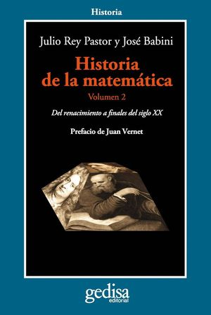 HISTORIA DE LA MATEMÁTICA. VOLUMEN 2