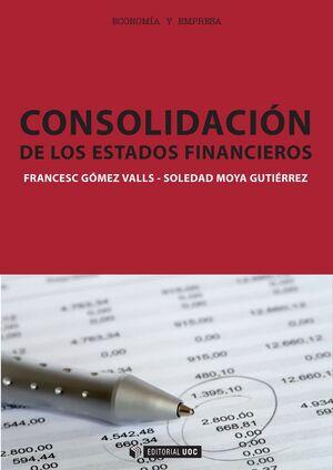 CONSOLIDACIÓN DE LOS ESTADOS FINANCIEROS