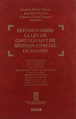 ESTUDIOS SOBRE LA LEY DE CAPITALIDAD Y DE RÉGIMEN ESPECIAL DE MADRID