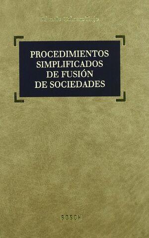 PROCEDIMIENTOS SIMPLIFICADOS DE FUSION DE SOCIEDADES