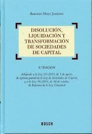 DISOLUCION, LIQUIDACION Y TRANSFORMACION DE SOCIED