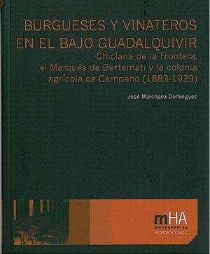 BURGUESES Y VINATEROS EN EL BAJO GUADALQUIVIR