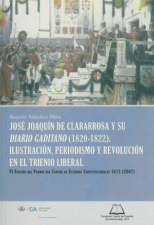 JOSÉ JOAQUÍN DE CLARARROSA Y SU DIARIO GADITANO (1820-1822).