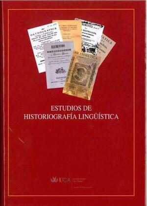 ESTUDIOS DE HISTORIOGRAFÍA LINGÜÍSTICA