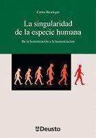 LA SINGULARIDAD DE LA ESPECIE HUMANA