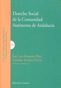DERECHO SOCIAL DE LA COMUNIDAD AUTONOMA DE ANDALUCIA.