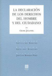 DECLARACION DE LOS DERECHOS DEL HOMBRE Y DEL CIUDADANO,LA