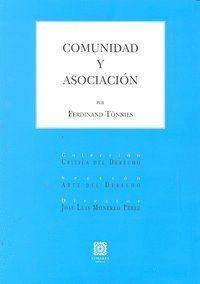 COMUNIDAD Y ASOCIACION.