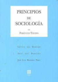 PRINCIPIOS DE SOCIOLOGA