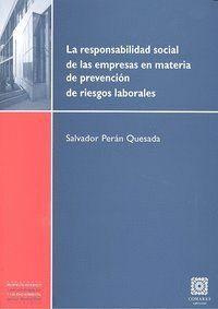 RESPONSABILIDAD SOCIAL EMPRESAS MATERIA PREVENCION RIESGOS L