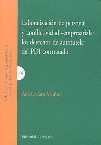 LABORALIZACION DE PERSONAL Y COFLICTIVIDAD EMPRESARIAL PDI C