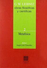 METAFSICA OBRAS FILOSOFICAS Y CIENTIFICAS